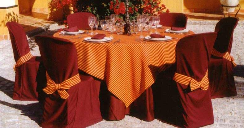 Romans diseno interior fabricamos manteleria vestidos - Manteles mesa rectangular ...